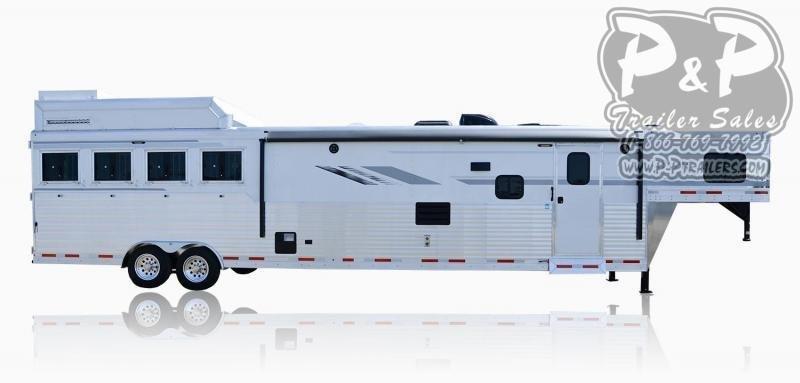 2020 SMC Horse Trailers SL8X18SCEB LARAMIE 3 Horse Slant Load Trailer 18 FT LQ With Slides