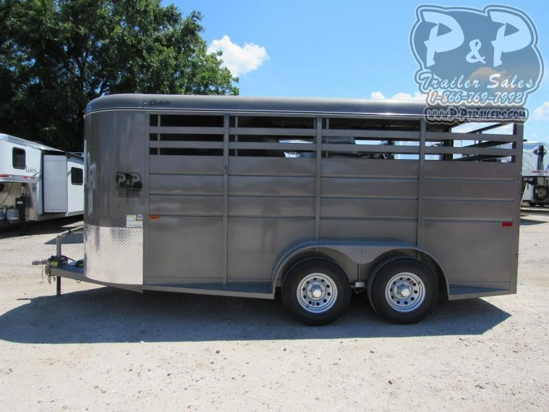 2020 CM Dakota 3 Horse Slant Load Trailer