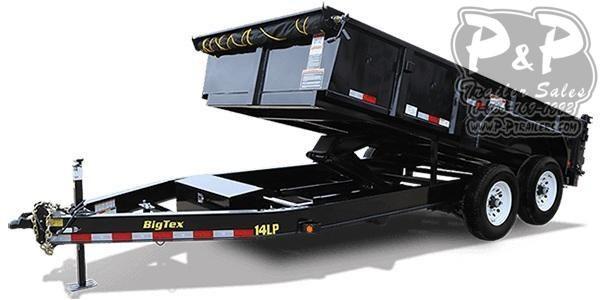 2019 Big Tex Trailers 14LP-14 Dump Trailer