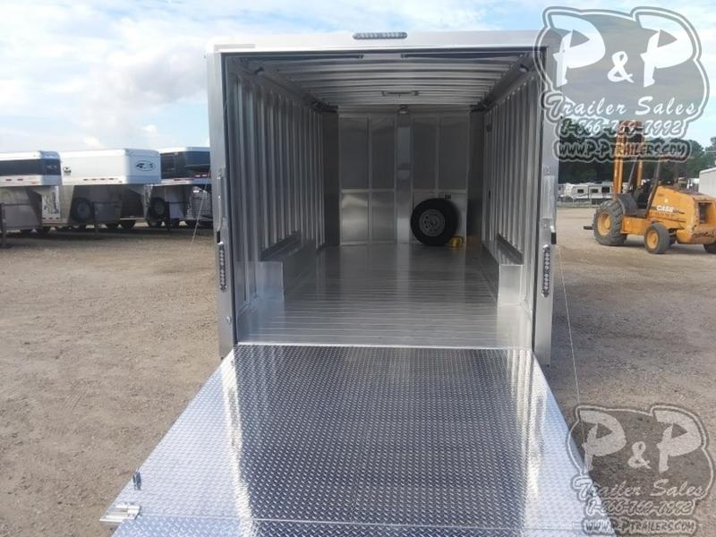 2020 P and P Enclosed Car Haulers 20' Car Hauler 20 ft Enclosed Cargo Trailer