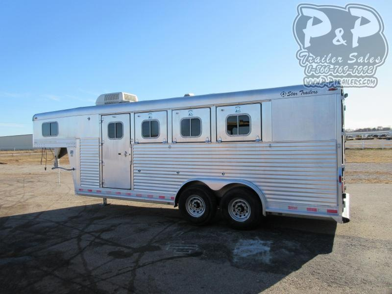 1997 4-Star Trailers 4 Horse G.N 4 Horse Slant Load Trailer