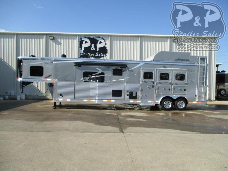 2020 Lakota BH8316SRB 3 Horse Trailer 16 LQ With Slides Slant