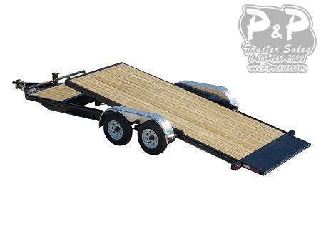 2020 PJ Trailers 5 in. Channel Tilt Carhauler (T5) Car / Racing Trailer