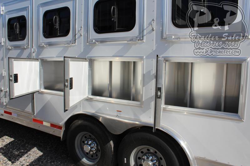 2020 Lakota Colt AC8415 4 Horse Slant Load Trailer 15 FT LQ With Slides