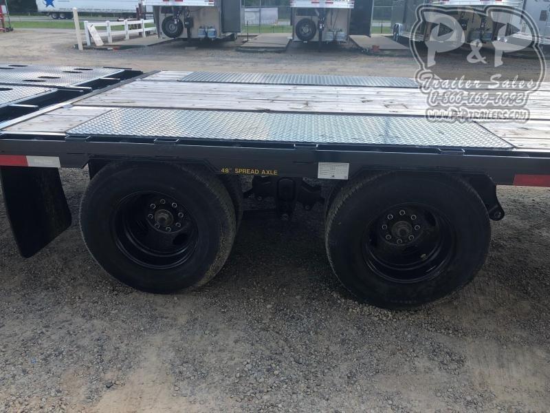 2020 Big Tex Trailers 22GN-20BK+5MR 25 ft Flatbed Trailer