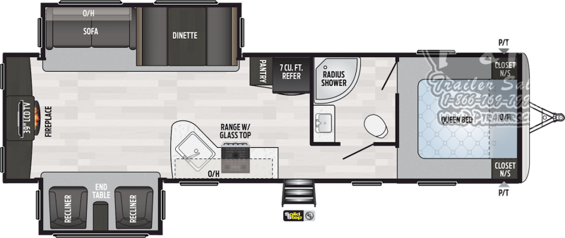 "2020 Springdale Keystone RV 311RE 35' 7"" ft Travel Trailer RV"