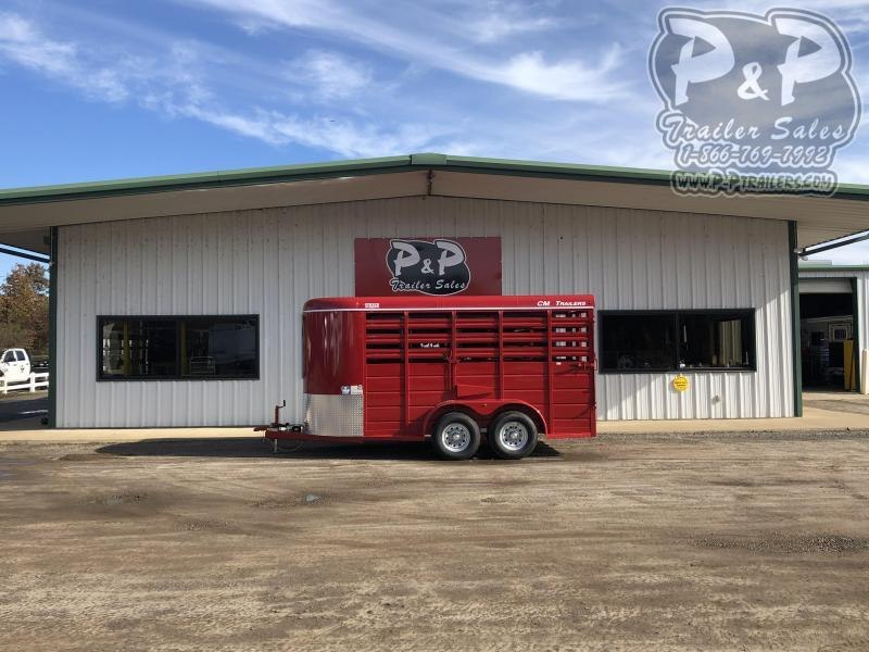 2020 CM CMS6630-1400235 16 ft Livestock Trailer