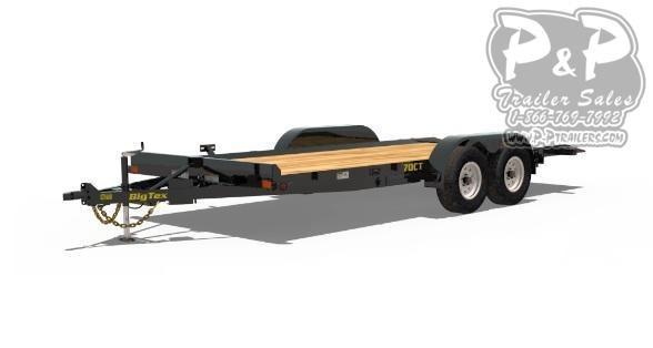 2020 Big Tex Trailers 70CT Tilt Car / Racing Trailer