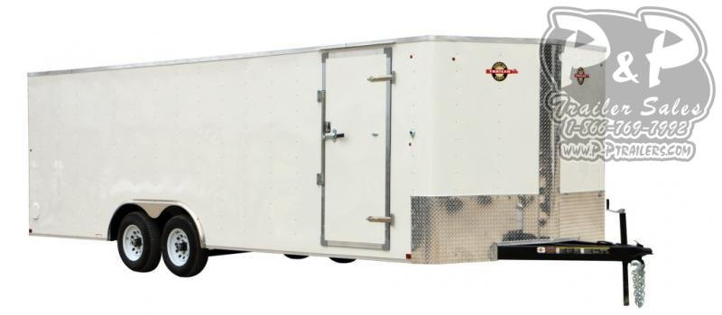 2020 Carry-On 8.5X24CGRBN10K Enclosed Cargo Trailer