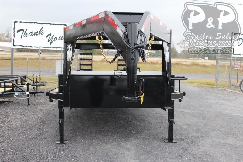 2020 P and P PPGNEQ30x102HD10KDOF 30 ft Flatbed Trailer
