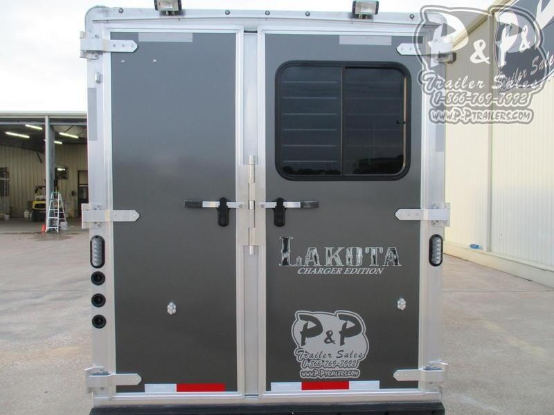 2020 Lakota Charger C39 3 Horse Slant Load Trailer 9 FT LQ
