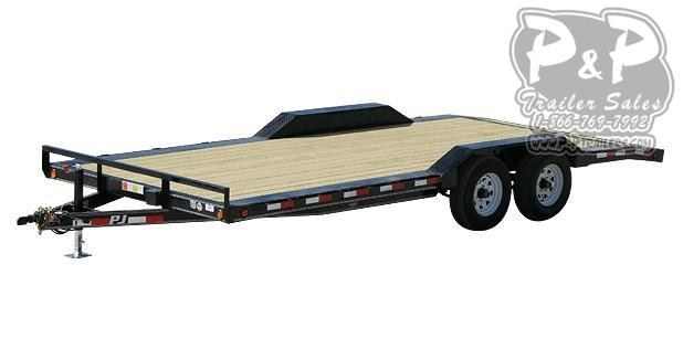 2020 PJ Trailers 5 in. Channel Buggy Hauler (B5) 22 ft Car / Racing Trailer