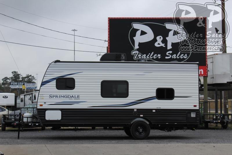 "2020 Keystone Springdale MINI 1800BH Single Axle 18' 4"" ft Travel Trailer RV"