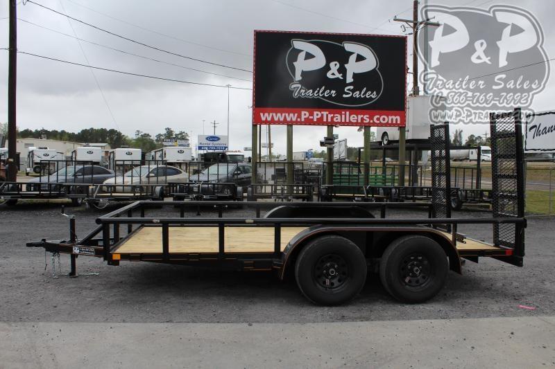 2020 P and P PPTA14X83LDFURPT 14 ft Utility Trailer