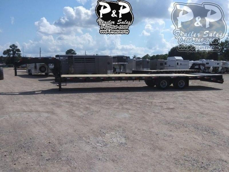 2020 P and P PPDT30+5X102HDMRLP 35 ft Flatbed Trailer