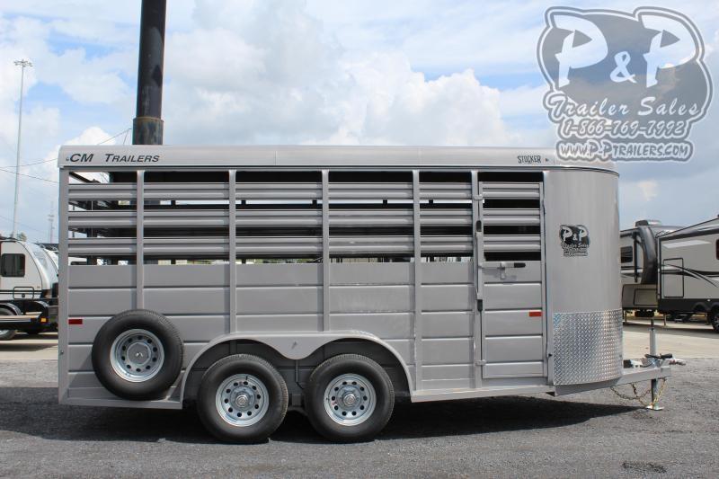 2019 CM CMS6630-1600235 16' ft Livestock Trailer