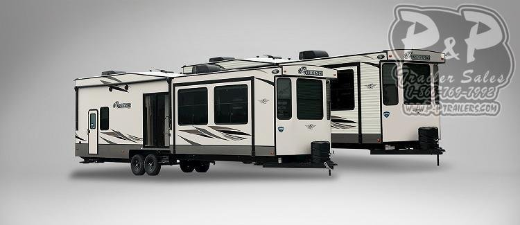 2020 Keystone Other Residence 40MKTS DESTINATION TRAILER 40.67 ft Travel Trailer RV