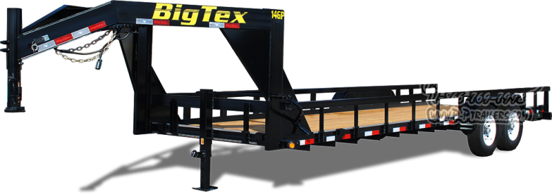 2019 Big Tex Trailers 14GP-24 Equipment Trailer