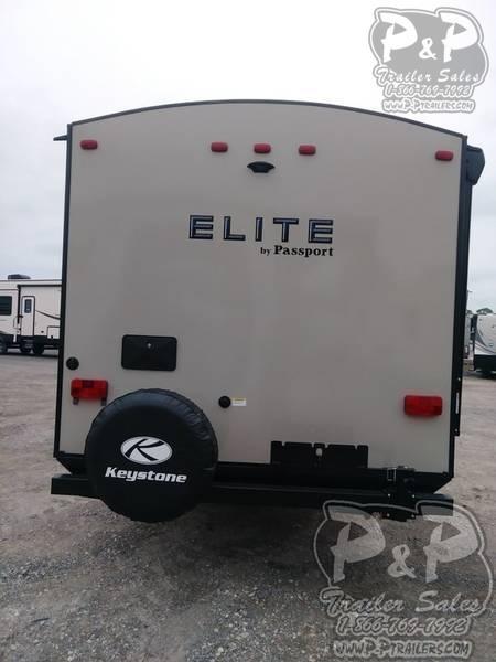 2018 Keystone Passport Elite 27RB 31.42 ft Travel Trailer RV