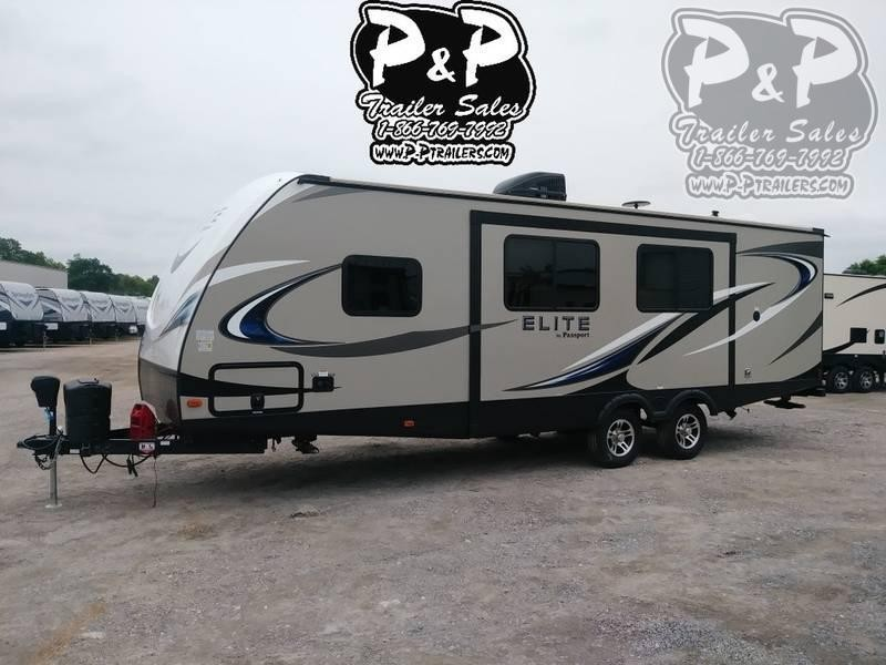 2018 Keystone Passport Elite 27RB 31.42 ft Travel Trailer RV