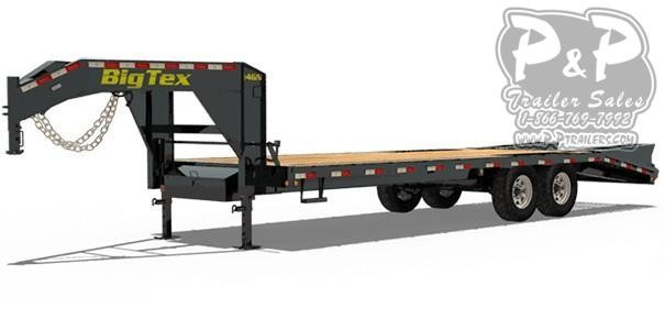 2020 Big Tex Trailers 14GN-20+5 25 ft Flatbed Trailer