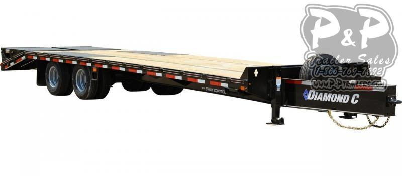 2020 Diamond C Trailers PX216 Pintle Hitch Equipment Trailer