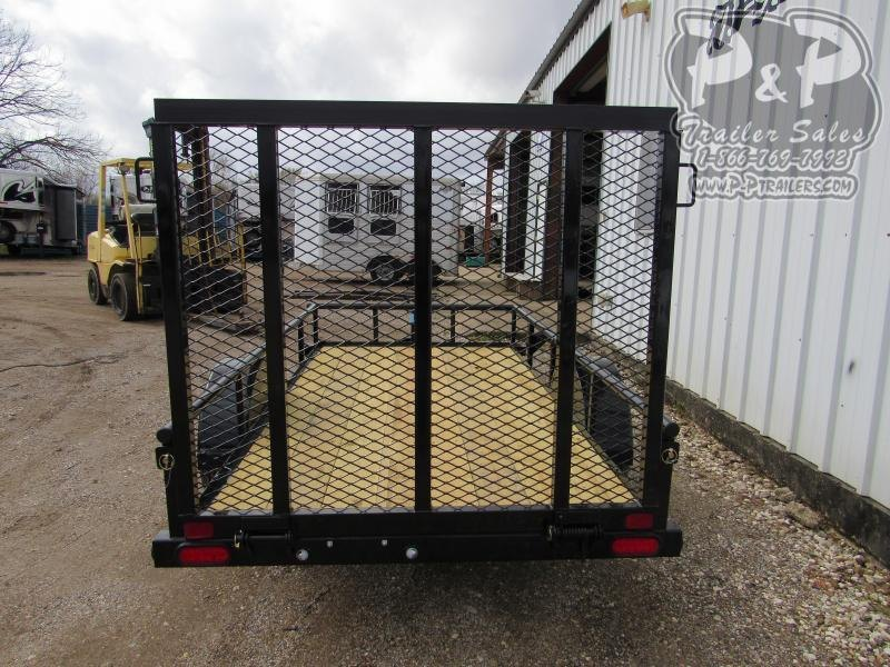 2020 Big Tex Trailers 5x10 SAPT 10 ft Utility Trailer