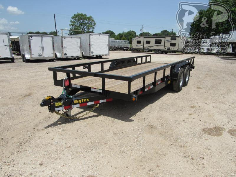 2020 Big Tex Trailers 14PI-20BK 20 ft Utility Trailer
