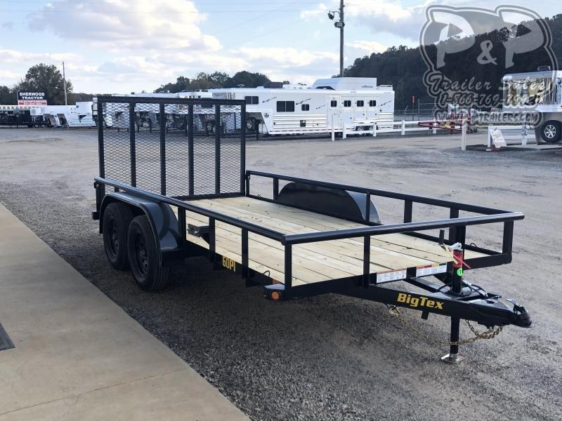 2020 Big Tex Trailers 60PI-14XBK4RG 14' Utility Trailer