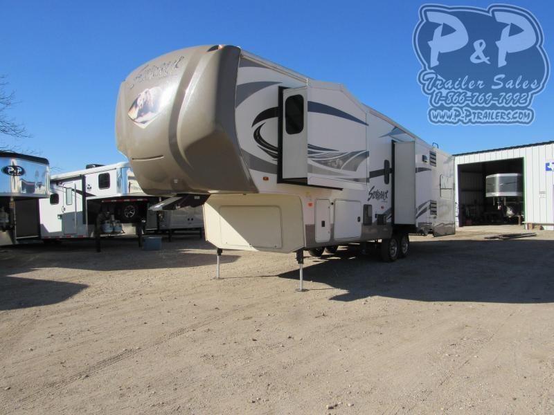 2016 Cedar Creek Silverback 29IK 29 ft Fifth Wheel Campers RV