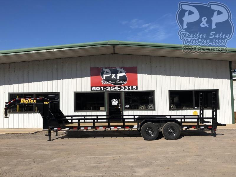 2020 Big Tex Trailers 14GP-24 24 ft Equipment Trailer