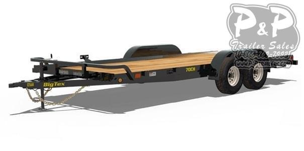 2019 Big Tex Trailers 70CH-20 Car / Racing Trailer