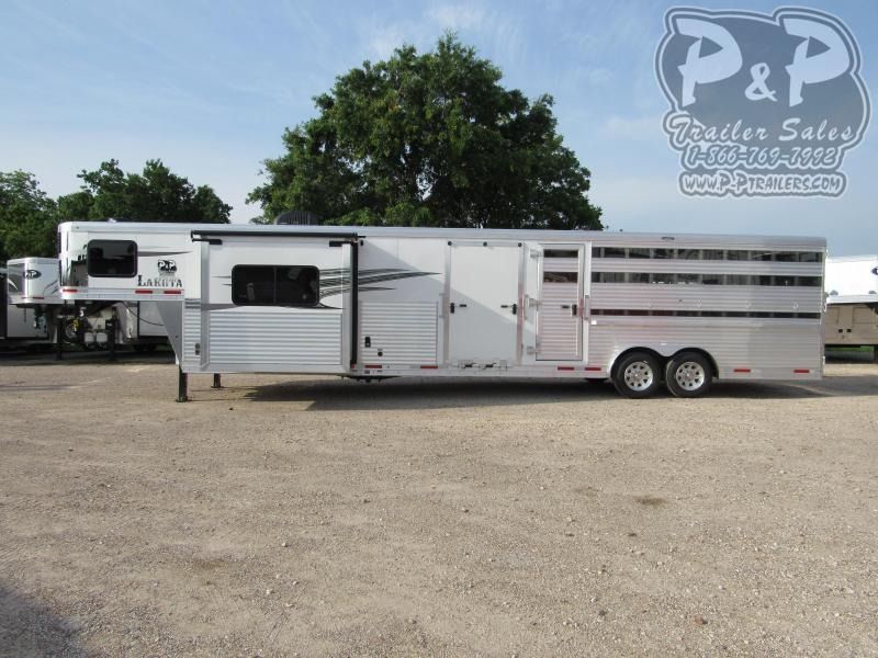 2020 Lakota Charger LE81611 32 ft Livestock Trailer LQ