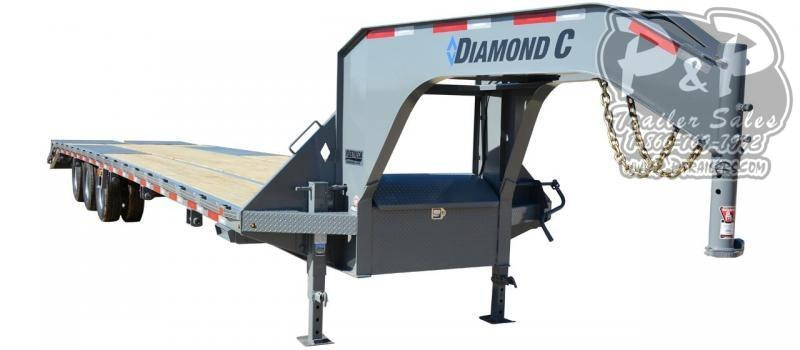 2020 Diamond C Trailers FMAX312 Gooseneck Equipment Trailer