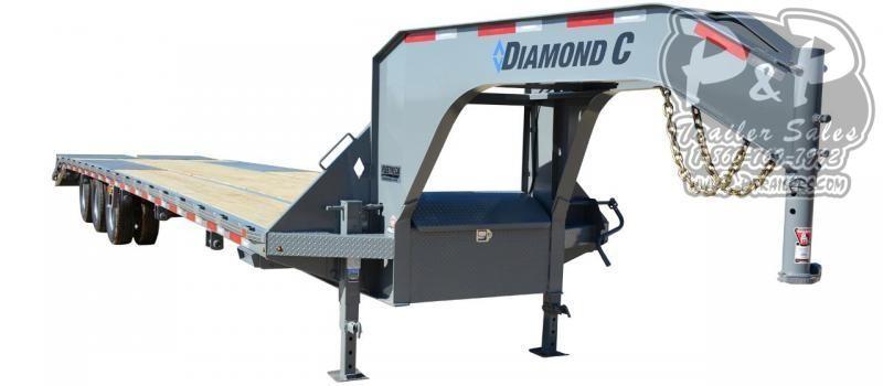 2020 Diamond C Trailers FMAX312 Gooseneck Equipment Trailer
