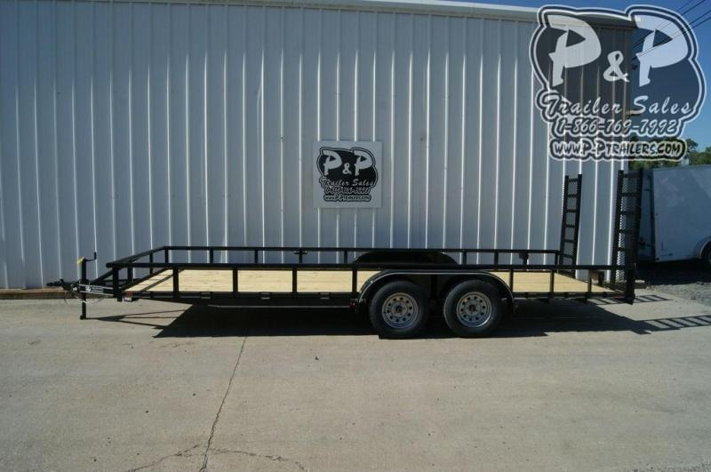2019 P and P PPTA20X83MDFURPT 20 ft Utility Trailer