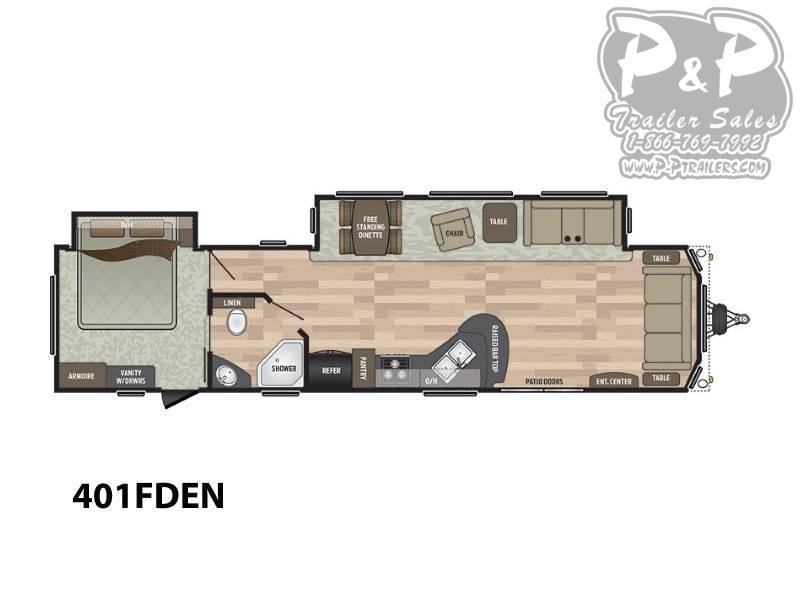 2020 Keystone Other Residence Destination 401FDEN 40.11 ft Travel Trailer RV
