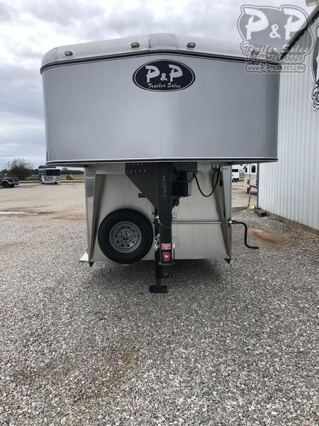 2019 P and P 24' Gooseneck Stock trailer 24 ft Livestock Trailer