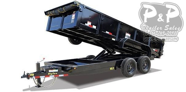 2020 Big Tex Trailers 16LX-14 Dump Trailer