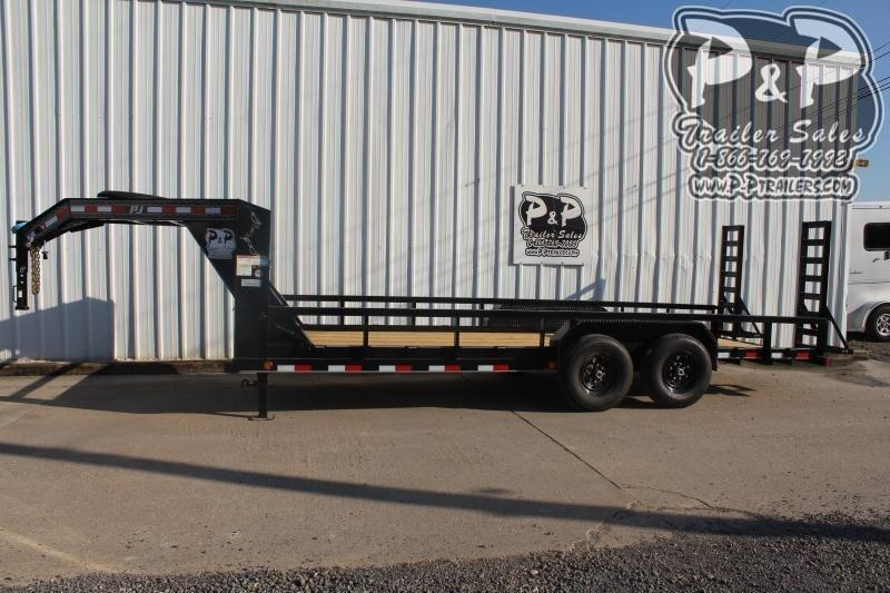 2020 PJ Trailers PJTA24x83GNHDFUR 24 ft Utility Trailer