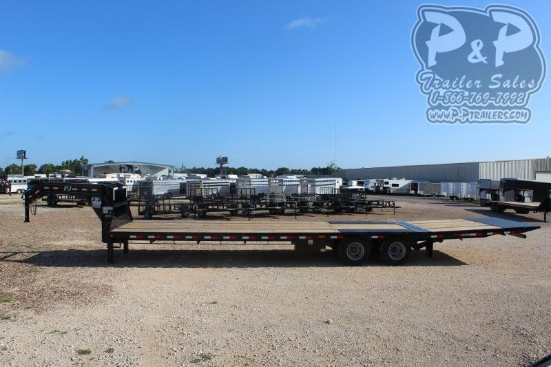2020 PJ Trailers PJHDT36x102HDHDTLP 36' ft Flatbed Trailer