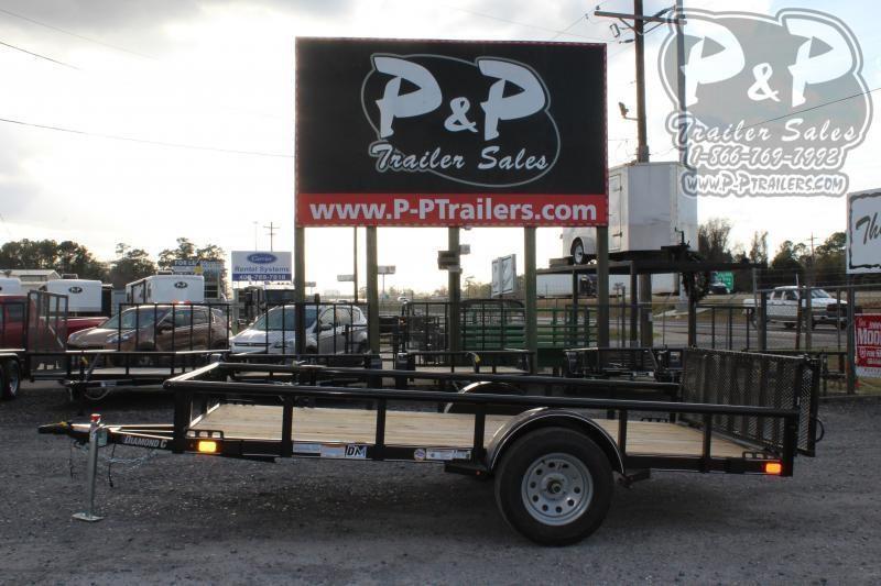 2020 Diamond C Trailers PSA135L12x77 12 ft Utility Trailer