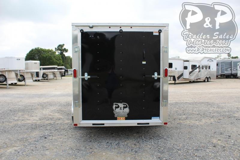 2020 Carry-On 6X12CGRBN 12 ft Enclosed Cargo Trailer