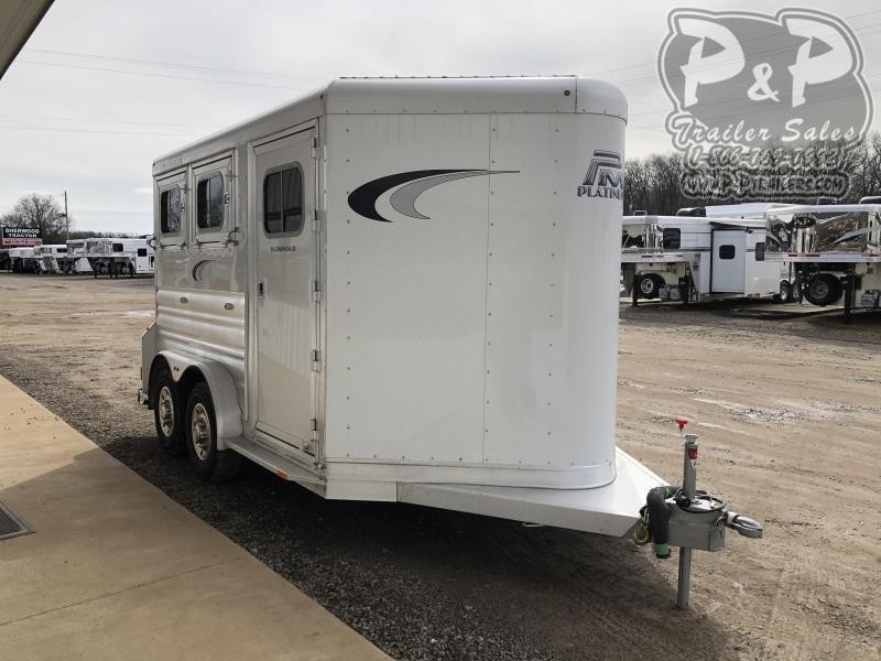 2020 Platinum Coach 762BP 2 Horse Slant Load Trailer