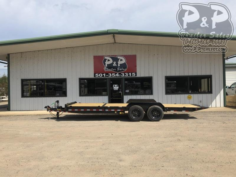 2020 Big Tex Trailers 16TL 22 22 ft Flatbed Trailer