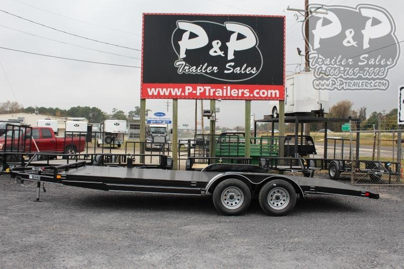 2020 P and P PPSFCH20X83GDSR 20 ft Flatbed Trailer