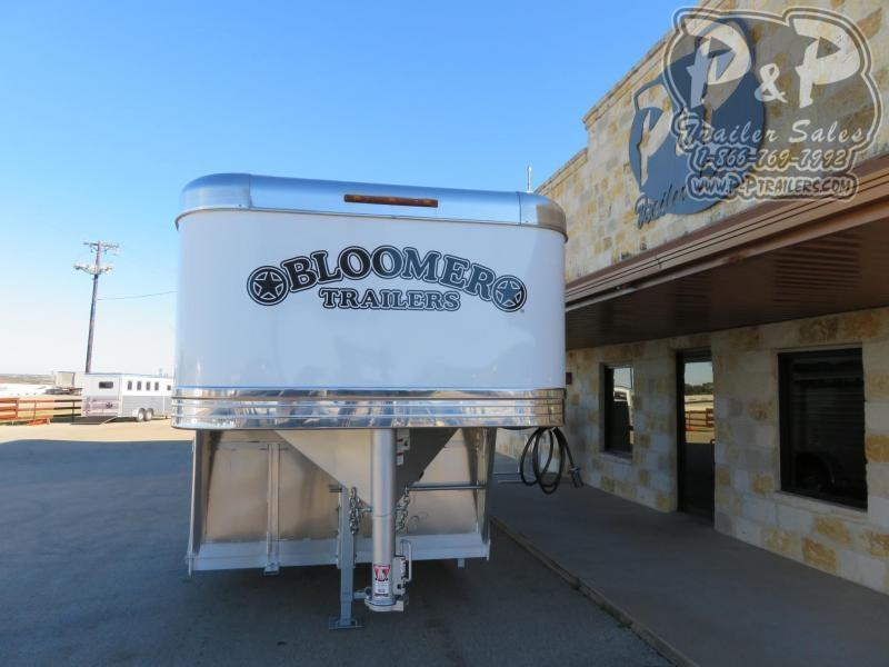 2020 Bloomer 7622STK Stock Combo 4 Horse Slant Load Trailer