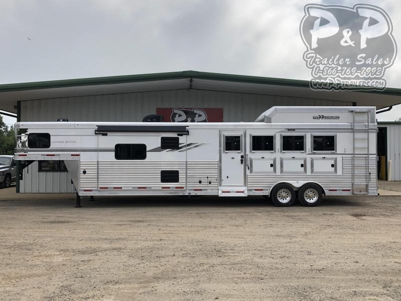 2020 SMC Horse Trailers SL8415SRKCE 4 Horse Trailer 15 LQ With Slides Slant