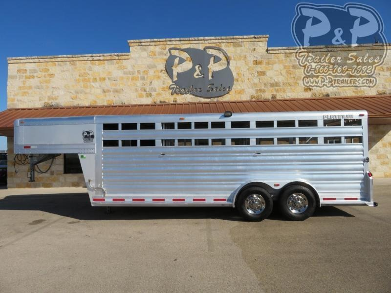2016 Platinum Coach 20ftSTK 20 ft Livestock Trailer