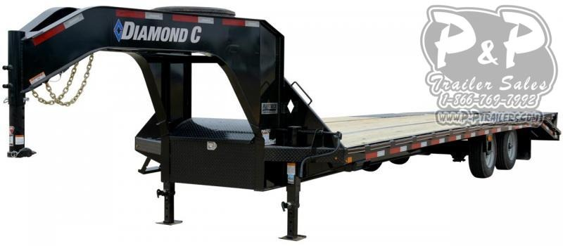 2020 Diamond C Trailers FMAX212SS Gooseneck Equipment Trailer